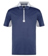Bugatchi Men's Half Zip short sleeve shirt