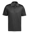 Bugatchi Mercerized Cotton Polo Shirt - Black Medium