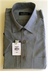 microfiber short sleeve camp collar shirts by Bugatchi