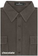 Bugatchi men's long sleeve button down knit shirt