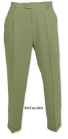 Bugatchi silk pants melon 33 30