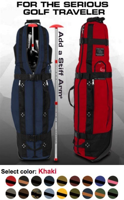 burst proof Golf Travel Bag with wheels