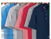 Fairway and Greene mini stripe men's polo shirt