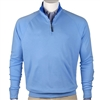 Fairway and Greene interlock Mens Fairway Solid Long Sleeve 1/4 Zip
