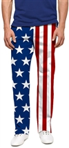 Loudmouth Golf Stars Stripes Men's Pants 38X30