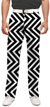 Loudmouth Golf Daktari Black pants