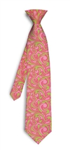 Cotton Candy mini Silk Tie LoudMouth Golf