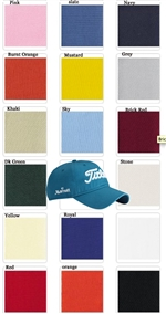Titleist Custom Unstructured Chino Twill Logo Cap