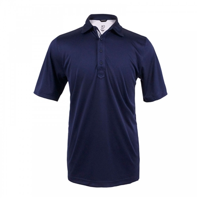 mens short sleeve golf polo shirt Zero Restriction