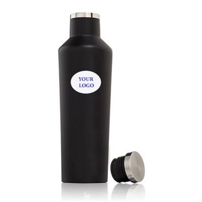 black custom logo canteen corkcicle 25 oz