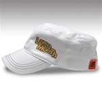 White Loudmouth Golf Painters hat