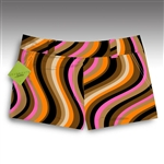women's mojodelic mini shorts by LoudMouth Golf