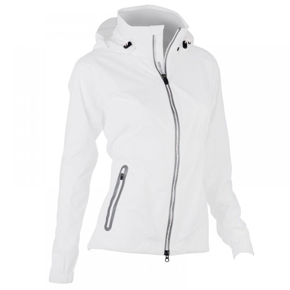 White Waterproof Jacket Ladies - JacketIn
