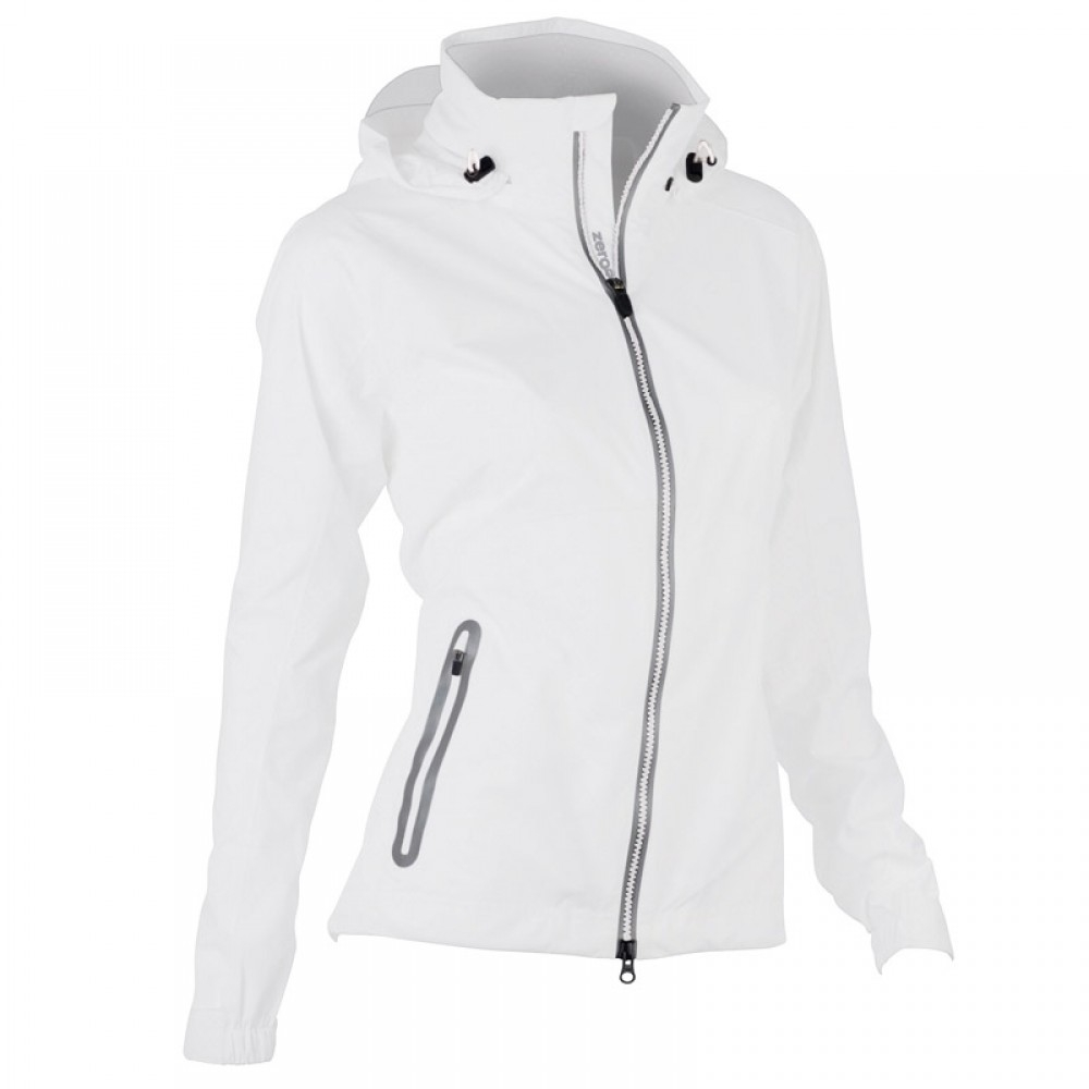 ladies waterproof golf jacket Zero Restriction hooded olivia Jacket