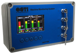 CMCP7504 Four Channel Machinery Monitoring System