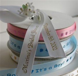 "5/8"" Double Faced Satin Favor Ribbon"