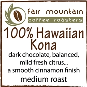Hawaiian 100% Kona - 8 oz.