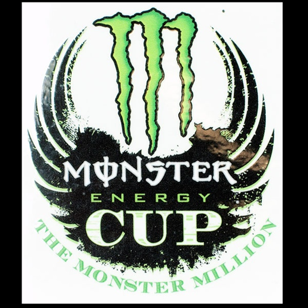 Super Energy Cup Logo Sticker OR71