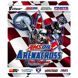 AMSOIL Arenacross Bike Fleece Blanket