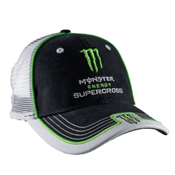 Monster Energy Supercross Mesh Back Cap