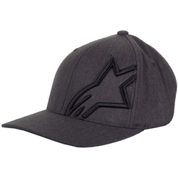 Alpinestars Corp Shift 2 Flexfit Grey/Black Hat - L/XL