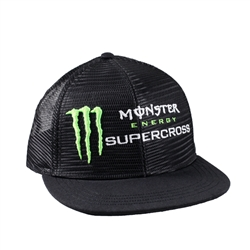 Mesh Monster Energy Supercross Snap Back Cap