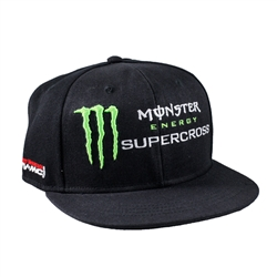 Monster Energy Supercross Crown Sponsor Cap