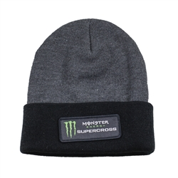 Supercross Black/Grey Beanie