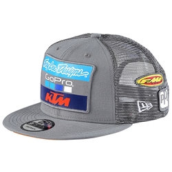 Team TLD KTM Snapback Grey Hat