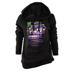 Monster Energy Supercross Laser Ladies Hoodie