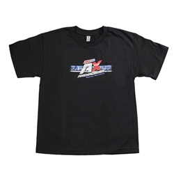 Arenacross Bars Black Youth Tee