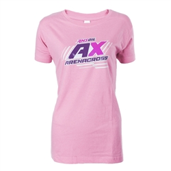 Arenacross Light Pink Ladies Tee