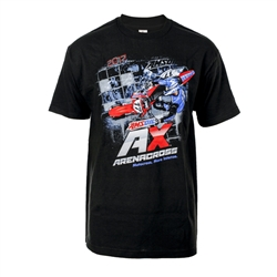 Arenacross Series 2017 Black Tee