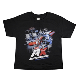 Arenacross Series 2017 Black Youth Tee