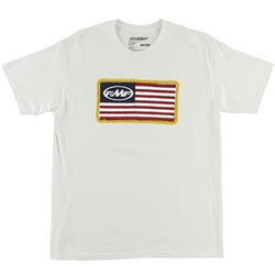 FMF Racing Stars & Bars White Tee