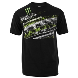 Monster Energy Supercross Streaks Tee