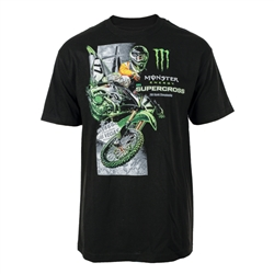 Supercross Series 2017 Black Tee