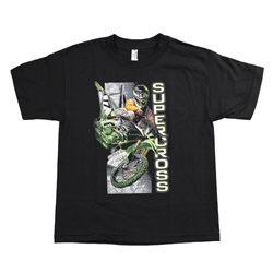 Supercross Series 2017 Black Youth Tee