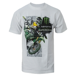 Supercross Series 2017 White Tee