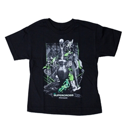 Supercross 2018 Series Black Youth Tee