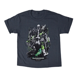 Supercross 2018 Series Grey Youth Tee