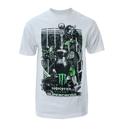 Supercross 2018 Series White Tee