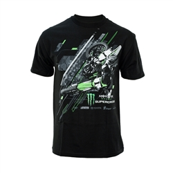 Monster Energy Supercross Black Rider Tee