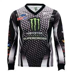 Monster Energy Supercross Black Jersey