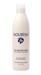 Dry Face Wash
