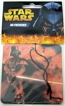 STAR WARS AIR FRESHENERS CARDED 12 COUNT