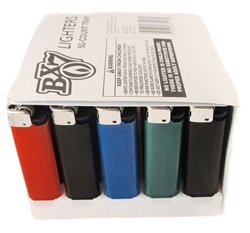 BX7 BIC LIGHTERS 50 COUNT