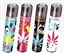 Bad Smiley Pot Leaf Clipper Isobutane Lighters 48 Count