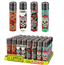 Clipper Mexican Skulls 2 Lighters 48 Count