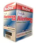 PRIME AID ALERTNESS AID COMPARE TO NODOZ 2 PACK 50 COUNT